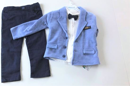 Picture of Elegant Boy´s Jacketed 3 piece Suit