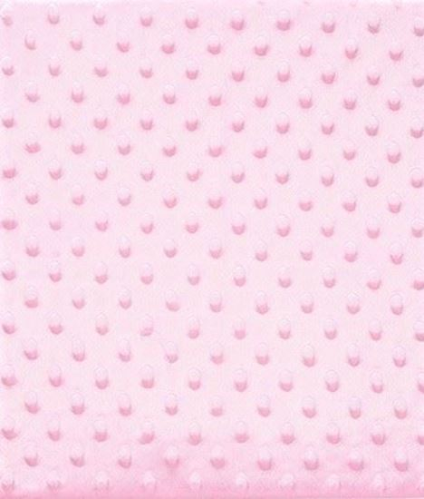 Picture of Pink Baby Peas Blanket Fluffy Fabric