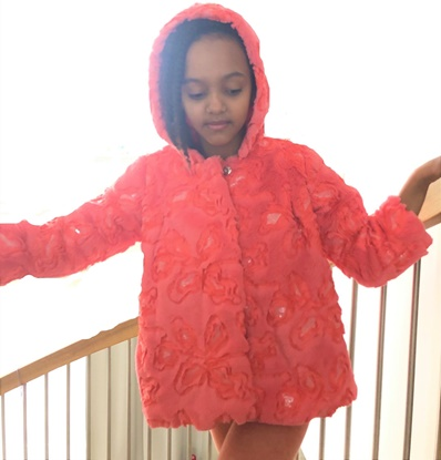 Picture of Baby girl Faux  Fur Jacket