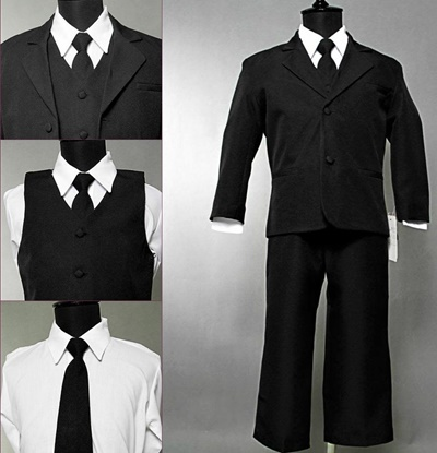 Picture of Black Matching suit set, perfect for all occasion