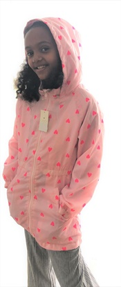 Picture of Girls Candy Couture Heart Lightweight Mac