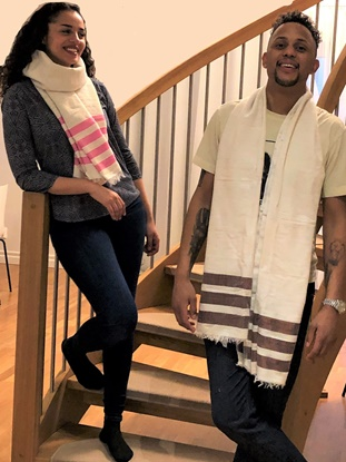 Picture of Ethiopian Handwoven Scarf.